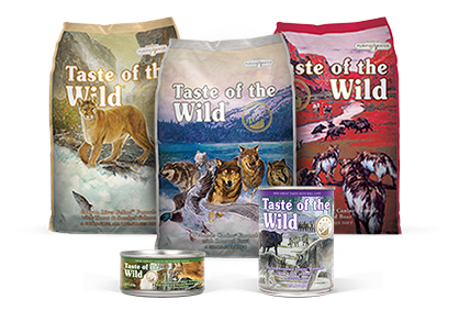 taste of the wild dog and cat food